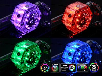 Bitspower Tank 34 With RGB, Clear