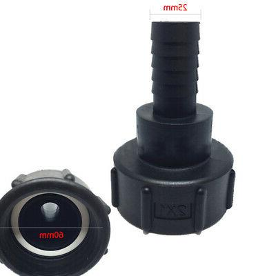 60mm To 25mm Connector Thread Water Tank Lawn Fitting Tool H