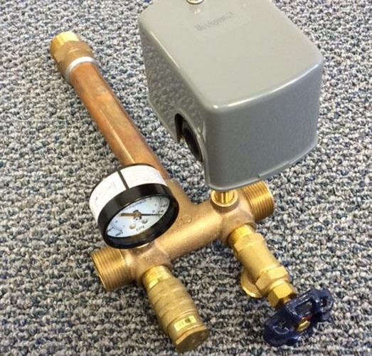 """Water Tank Installation Kit w/ x 11"""" Tee Front All NEW"""