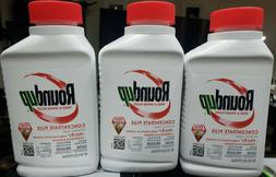 Lot of 3 Bottles of Roundup Weed & Grass Killer Concentrate