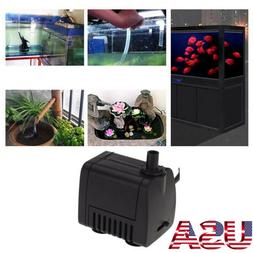 Mini Small Submersible Water Pump Aquarium Pond Fish Tank Fo