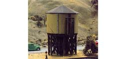 N Scale: 50,000 GALLON CLASSIC WOODEN WATER TANK - Kit #2600