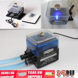 New SC-300T 12V DC Ultra-Quiet Water Pump Tank for PC CPU Li