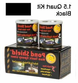 Pond Armor SKU-BLACK-3GA Non-Toxic Pond Shield Epoxy Paint,