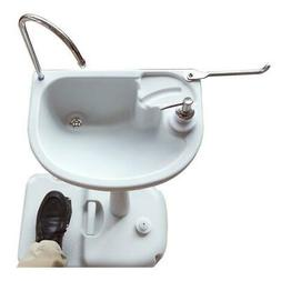 Outdoor Removable Camping Wash Basin Sink Stand Water Tank F