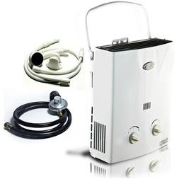 Portable RV Tankless Hot Water Heater Propane Gas LPG 2 GPM