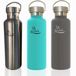 Premium Stainless Steel Double-Wall Vacuum Insulated Water B