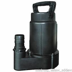 "LAGUNA WATER GARDEN PT362 SUBMERSIBLE SKIMMER PUMP BLACK ""1,"