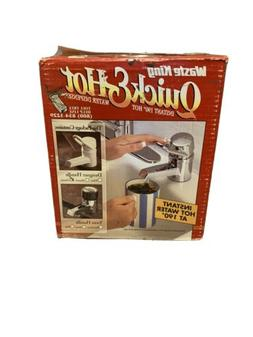 Waste King Quick & Hot  Hot Water Dispenser Faucet and Tank
