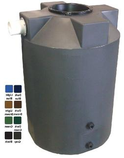 100 Gallon Rain Harvest Collection Tank, Dark Green