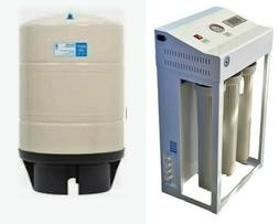 Reverse Osmosis Water Filtration System 800 GPD - Dual Boost