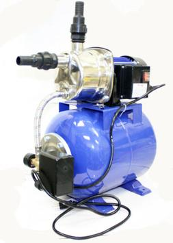 1.6 HP 110V Shallow Jet Water Well Pump with Tank Garden Spr