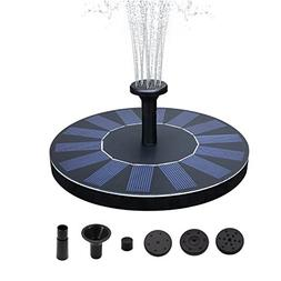 SENLUO Solar Fountain,Solar Powered Bird Bath Fountain Pump