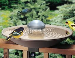 Solar Water Wiggler For Bird Bath