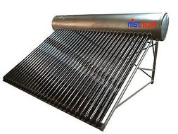 Stainless Steel  Compact Solar Hot Water Heater- 80 Gallon s