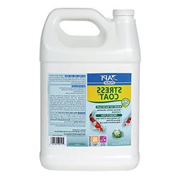 API POND STRESS COAT Pond Water Conditioner 1-Gallon Bottle