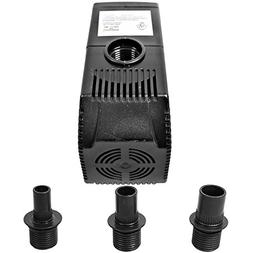 Sunnydaze 290GPH Submersible Water Pump with 6 Foot Power Co
