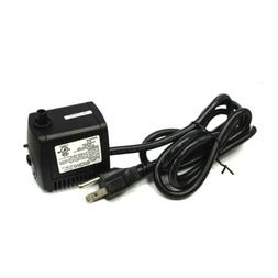 Submersible Fountain Tank Water Pump Small 120v .14A 60Hz Ad