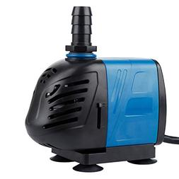 Uniclife 400-1000 GPH Submersible/Inline Water Pump for Pond