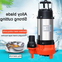 Submersible Pump 400W Non-blocking Submersible Dirty <font><
