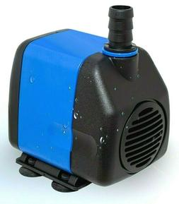Submersible Water Pump 400 GPH Aquarium Fish Tank Pond Power