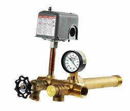 1 x 11 Tank Tee Kit with VALVES Installation Water Well Pres