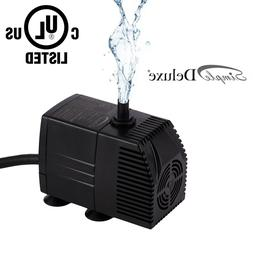 Simple Deluxe 120 GPH UL UL Listed Submersible Pump with 6'