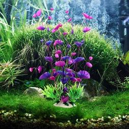 us fake artificial water grass plant fish