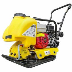 VIBRATING PLATE COMPACTOR WITH HONDA ENGINE GX160 5.5 HP GAS