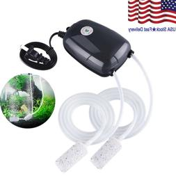 Water Air Bubble Air Stone Aquarium Aerator Fish Tank Pump H
