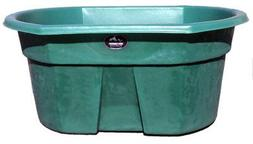 High Country Plastics 155 Gallon Water Tank, Forest Green, F