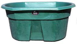 HIGH COUNTRY PLASTICS Water Tank, Forest Green, 155-Gals. W-