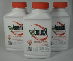 RoundUp Weed & Grass Killer Concentrate Plus Lot of 3 Bottle