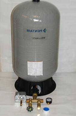 WELLMATE PENTAIR WM6 WM-6 20 gallon quick connect + Brass ta