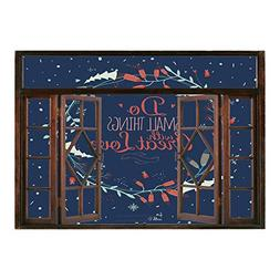window mural wall sticker quote