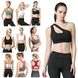 Women Sports Padded Bra Fitness Yoga Tank Tops Fitness Athle